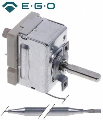 Termostat reglabil 30-110*C, 1NO, 16A, bulb 6mm x 83mm