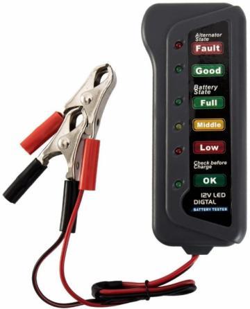 Tester de alternator si stare baterie Auto 12 V de la Www.oferteshop.ro - Cadouri Online