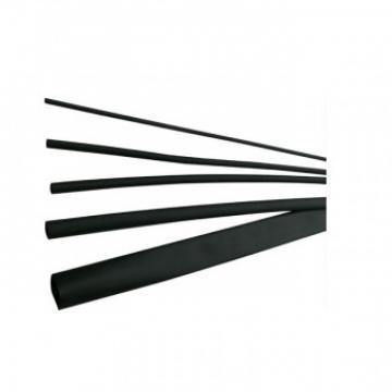 Tub termocontractibil 2 1mm, DRS 2-1 BK, negru, lungime 1m de la Viva Metal Decor Srl