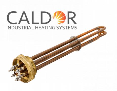 "Rezistenta boiler din cupru cu filet 2"", putere 7500W de la Caldor Industrial Heating Systems Srl"
