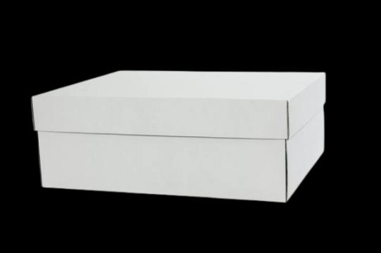Cutii albe tort 35x45x16cm de la Cristian Food Industry Srl.