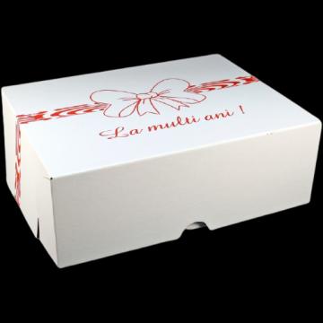 Cutii albe tort CT6 (34x45x16cm) 25 buc/set de la Cristian Food Industry Srl.