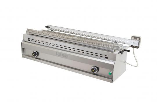 Gratar pe gaz cu apa si tepuse rotative pentru frigarui SG40 de la Clever Services SRL