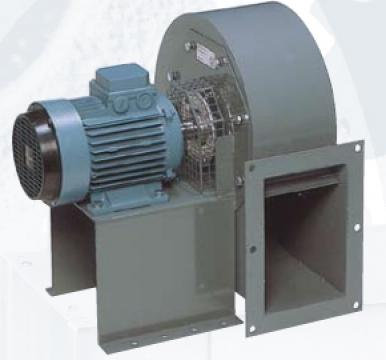 Ventilator centrifugal din otel CRMT/4- 500/205 7.5kw