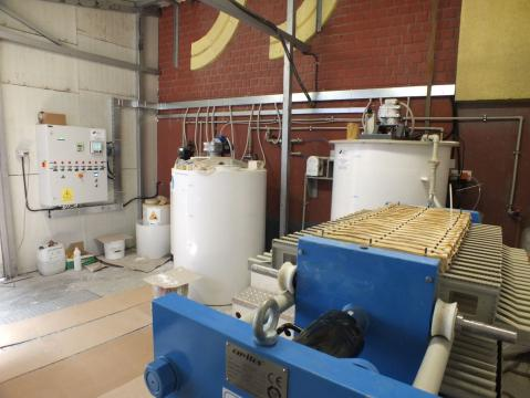 Statii de epurare ape uzate in industria mobilei de la Asio Romania S.r.l.