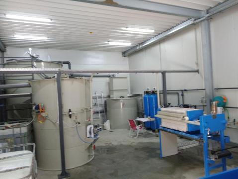 Statii de epurare ape uzate in industria textila de la Asio Romania S.r.l.