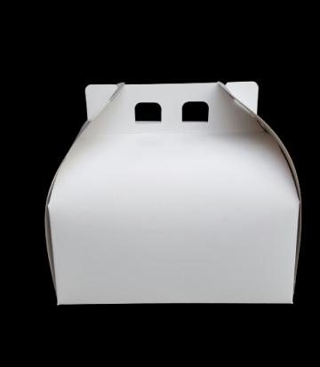 Cutii albe tort CT1/2 (20x20x13cm) 25 buc/set de la Cristian Food Industry Srl.