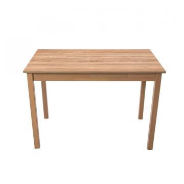Masa living Max2 S, sonoma, 110 x 60 x 76 cm, lemn masiv de la CB Furniture Srl