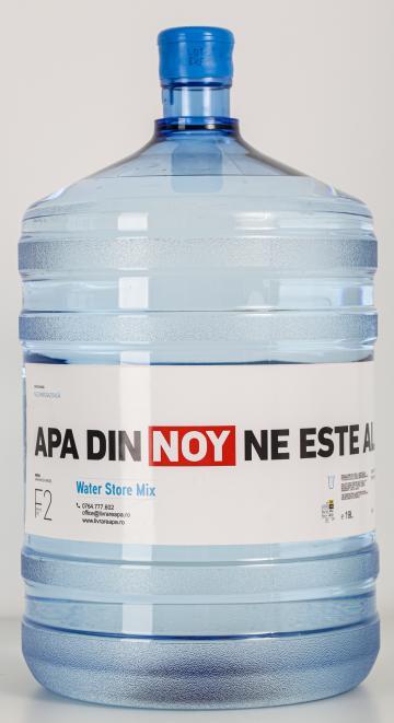 Apa plata 19 litri de la Water Store Mix Srl