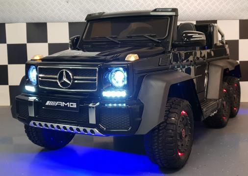 Jucarie masinuta electrica Mercedes G63 6x6 cu MP4