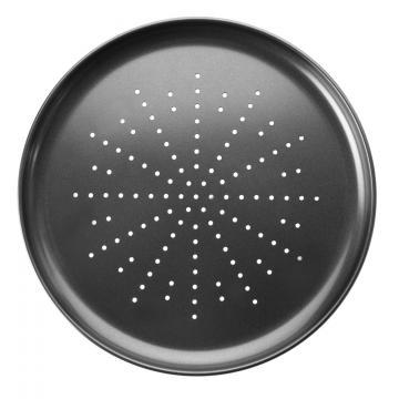 Tava perforata pizza la cuptor - 32 cm de la Plasma Trade Srl (happymax.ro)