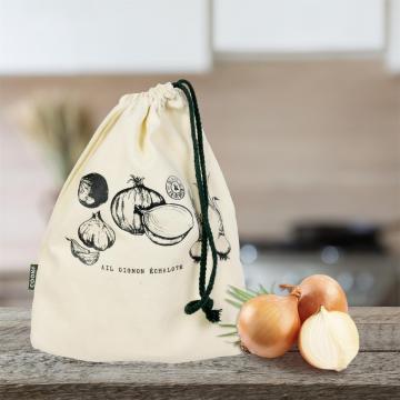 Sac cu snur pentru depozitare si conservare legume si fructe de la Plasma Trade Srl (happymax.ro)