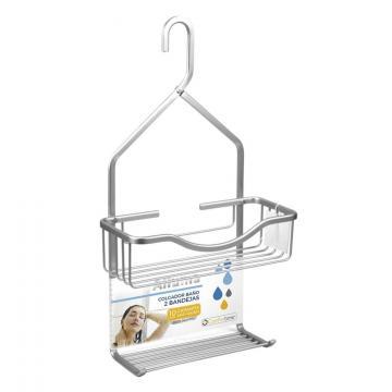 Suport aluminiu accesorii dus - Confortime de la Plasma Trade Srl (happymax.ro)