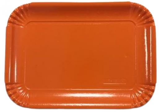 Tavite groase din carton orange N.5=4B (20,4x28,8cm) de la Cristian Food Industry Srl.