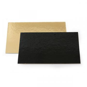 Planseta dreapta auriu/negru 34x44cm de la Cristian Food Industry Srl.