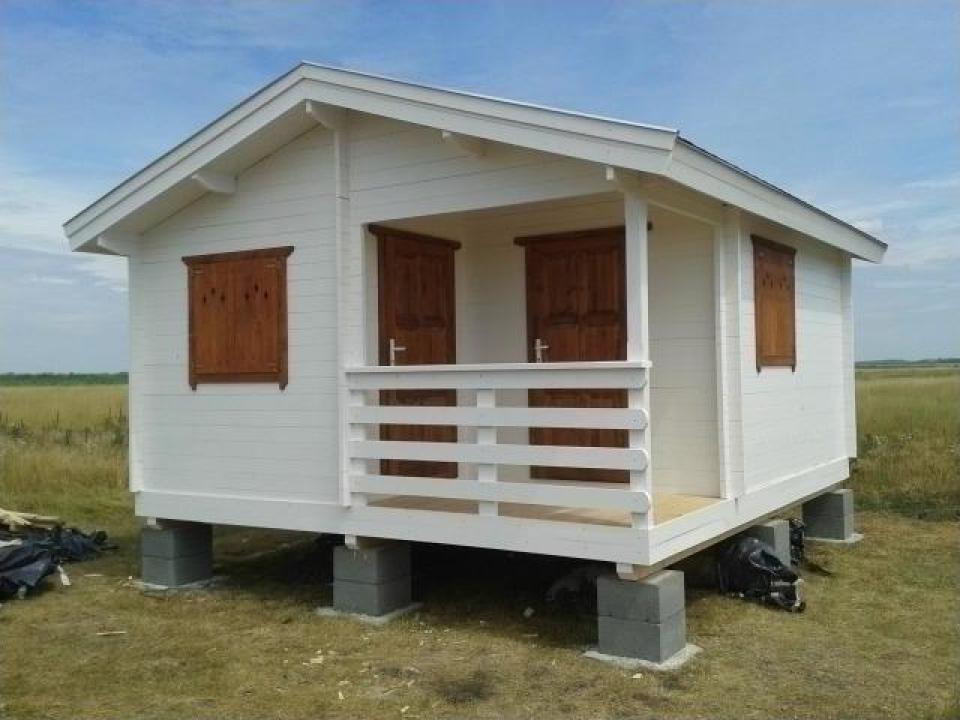Casa de vara din lemn Balaton 1 izolat