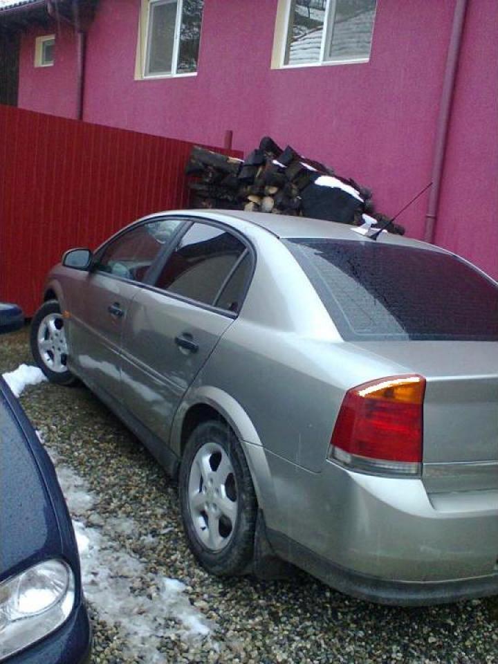 Opel Vectra C inmatriculat in Romania