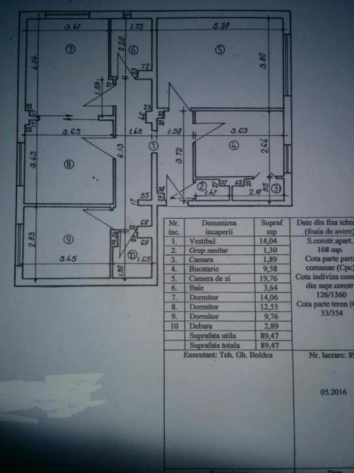 Apartament 4 camere Targoviste