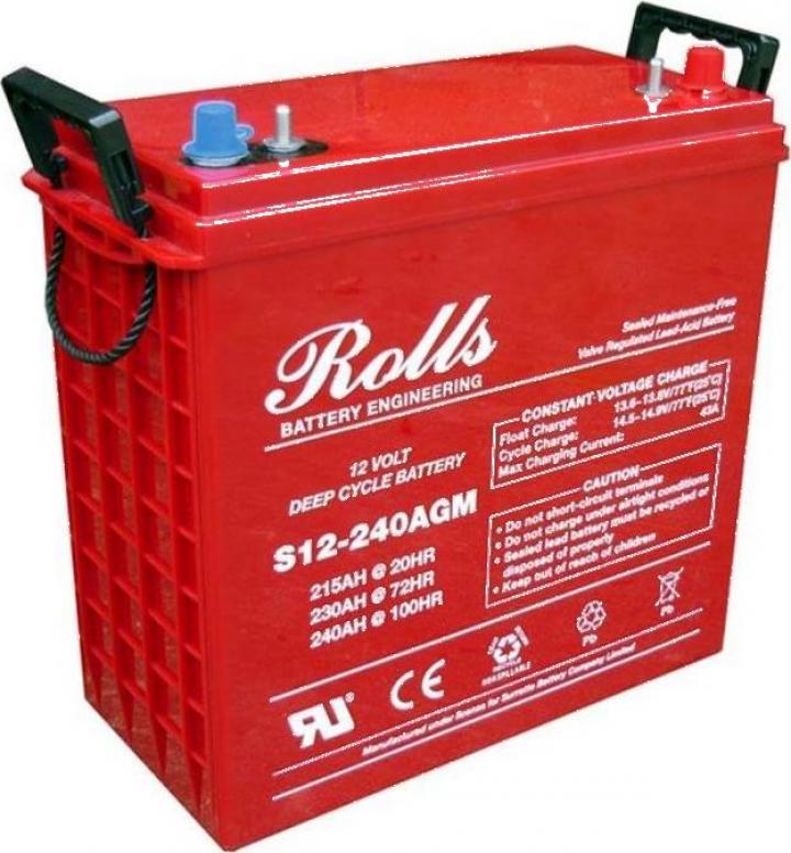 Baterie solara Rolls 12V 240AH
