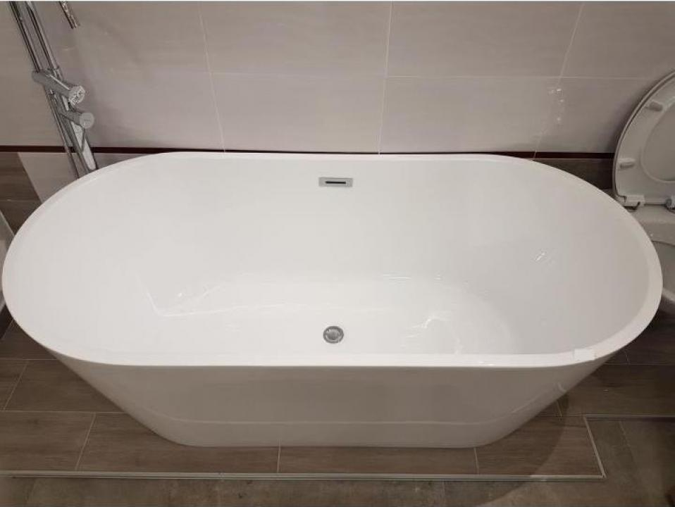Cada baie ovala compozit 170x80 cm