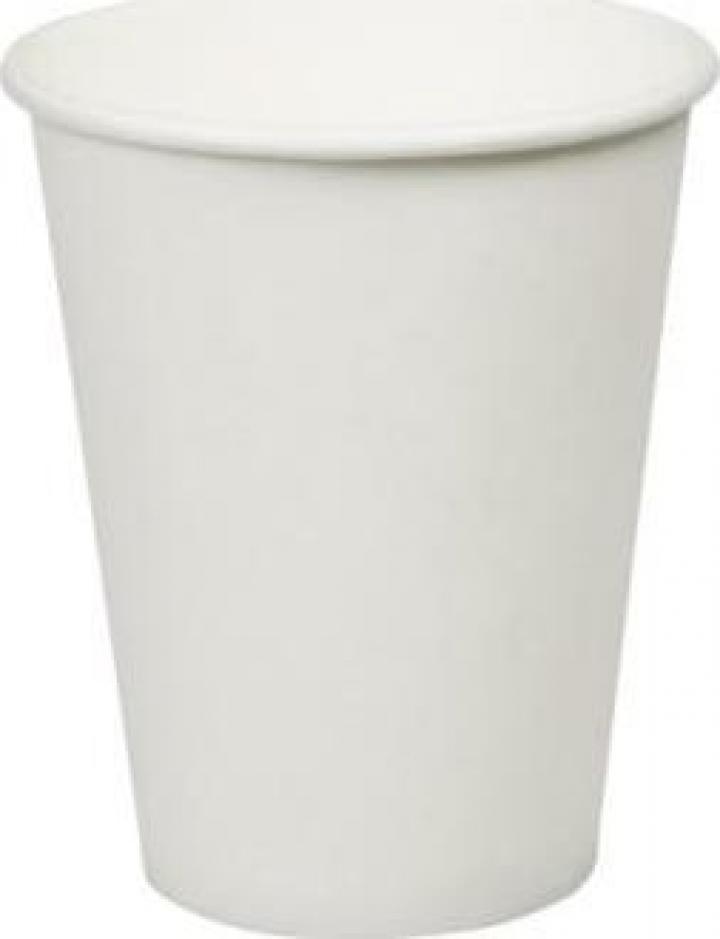 Pahar carton alb 12oz (355ml) 90mm 100 buc/set