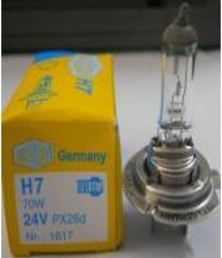 Bec halogen h7-24V Germania