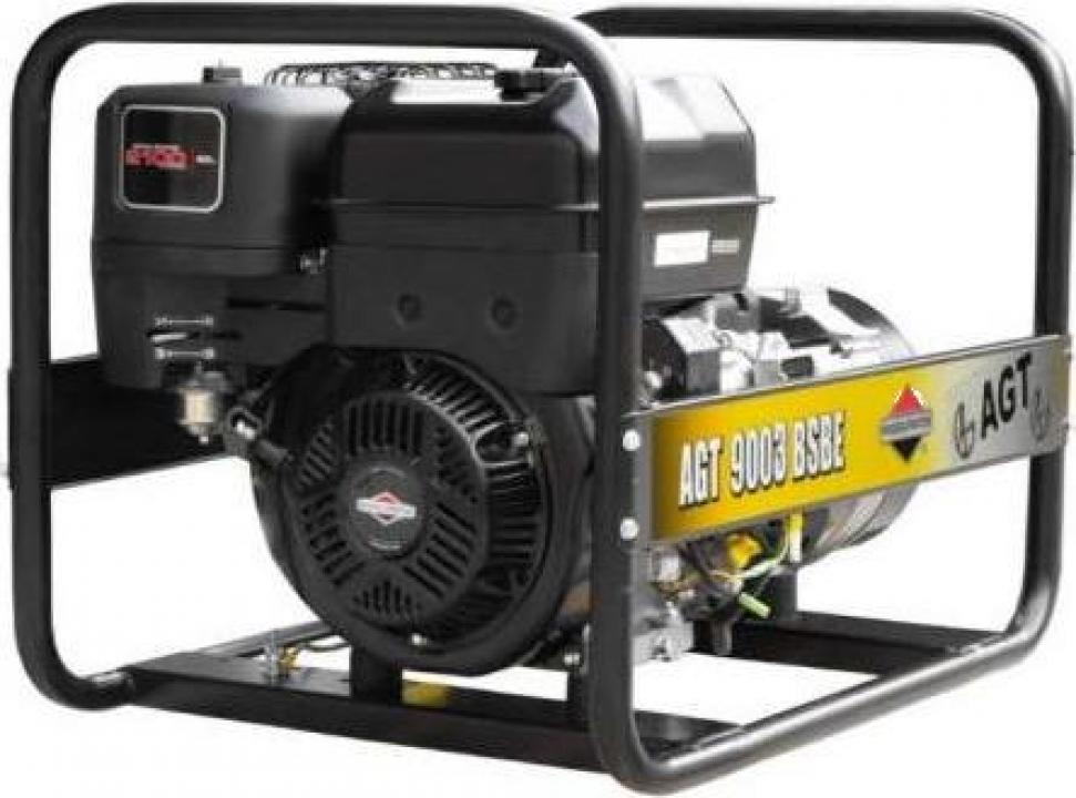 Generator trifazat AGT 9003 BSBE SE , motor Briggs&Stratton