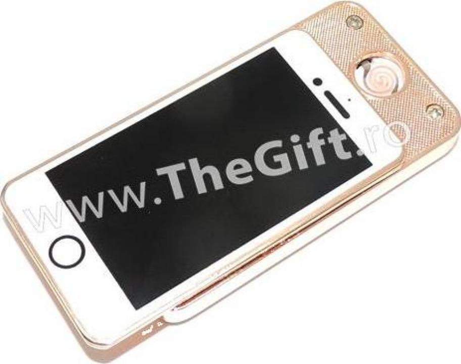 Bricheta anti vant, cu USB, in forma de iPhone