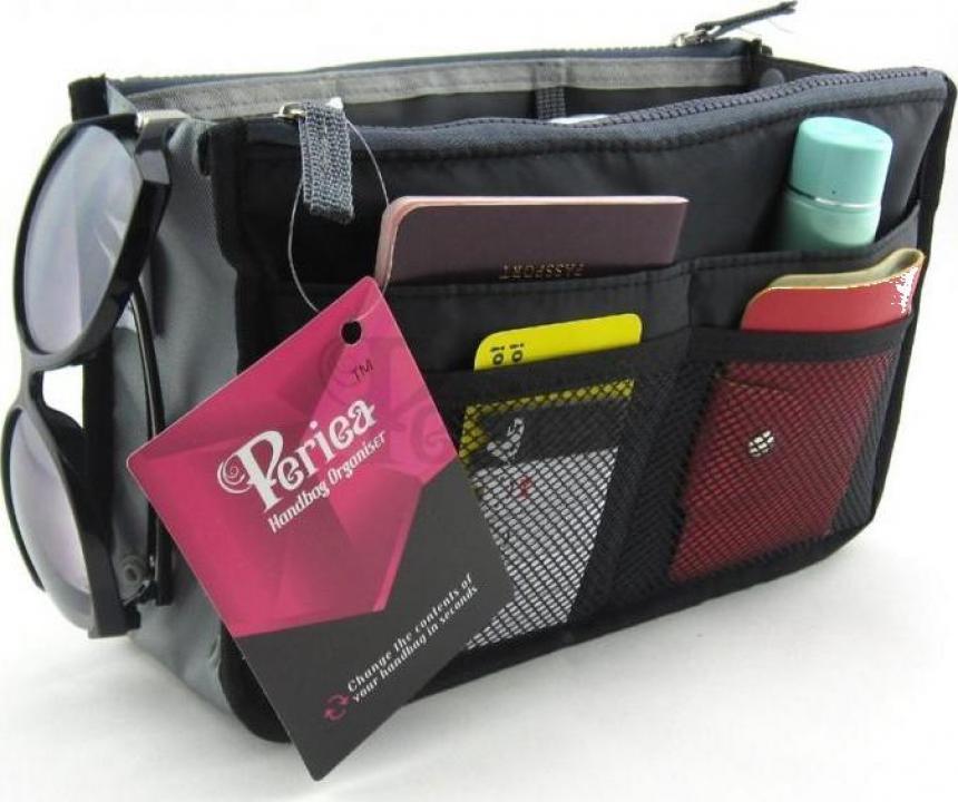Organizator geanta sau poseta Chelsy negru mediu