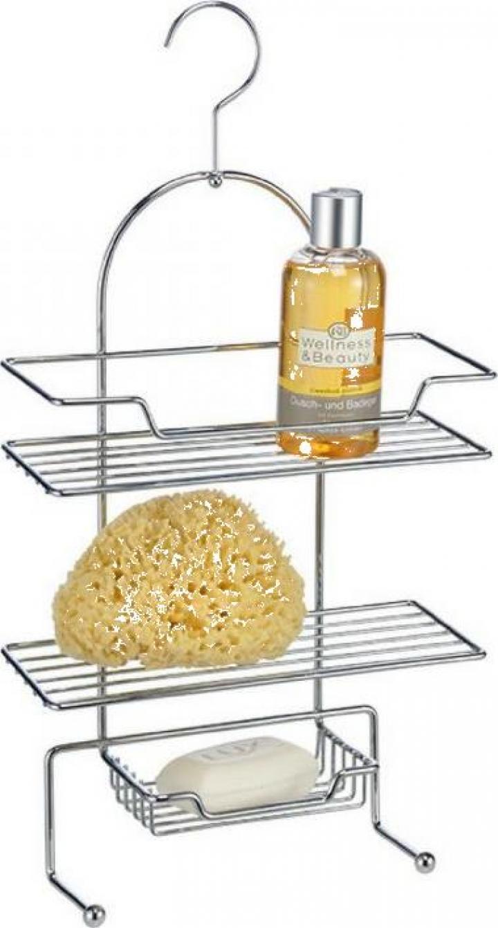 Suport metalic de agatat pentru baie