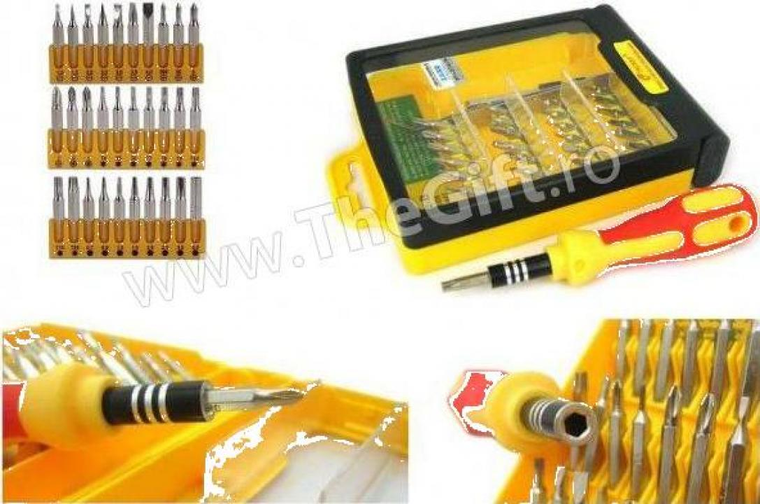 Set surubelnite 32 in 1 (GSM, PDA, laptop, notebook)