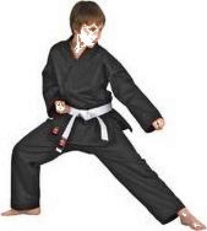 Kimono karate shotokan negru Dojo