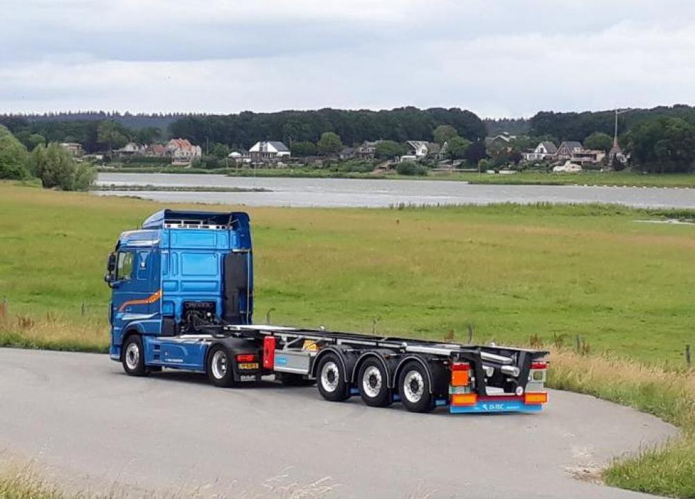 Container Carrier CC-2030 sasiu transport container ADR