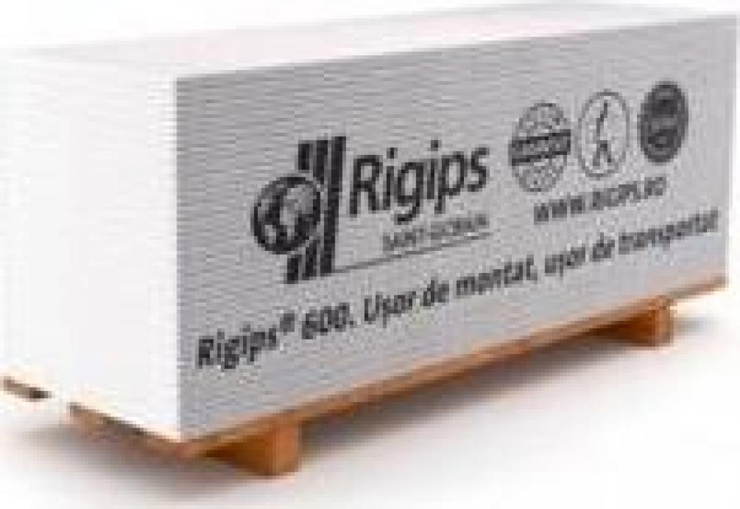 Placi rigips normal 9.5mm