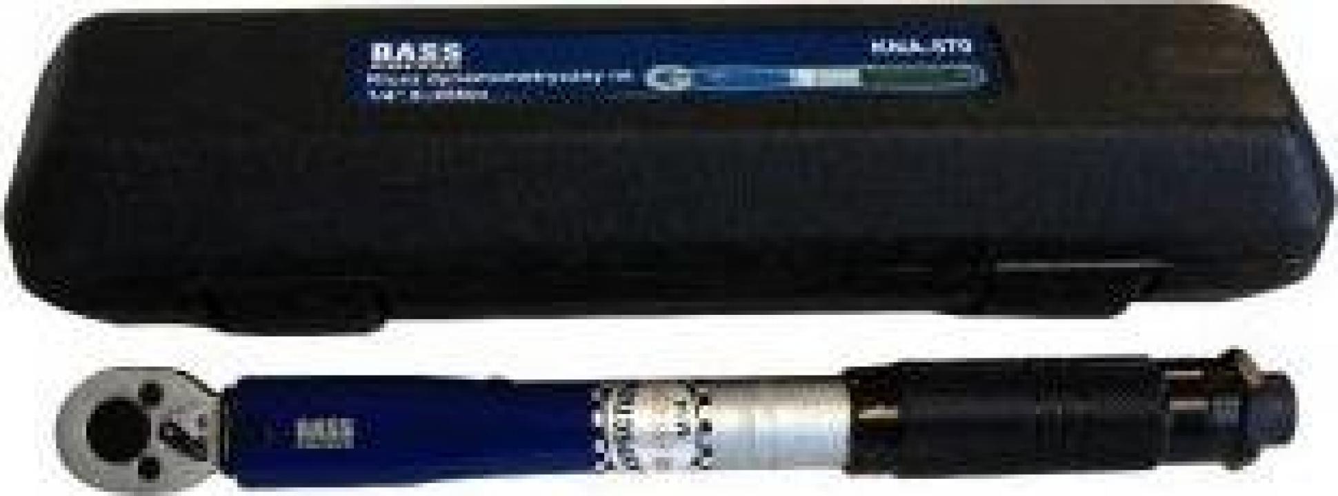 """Cheie dinamometrica Bass BS-7451, 1 4"""", 5-25 Nm, Cr-V"""