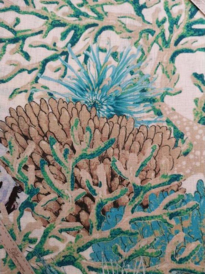 Fata de masa cu print corali 170x270cm