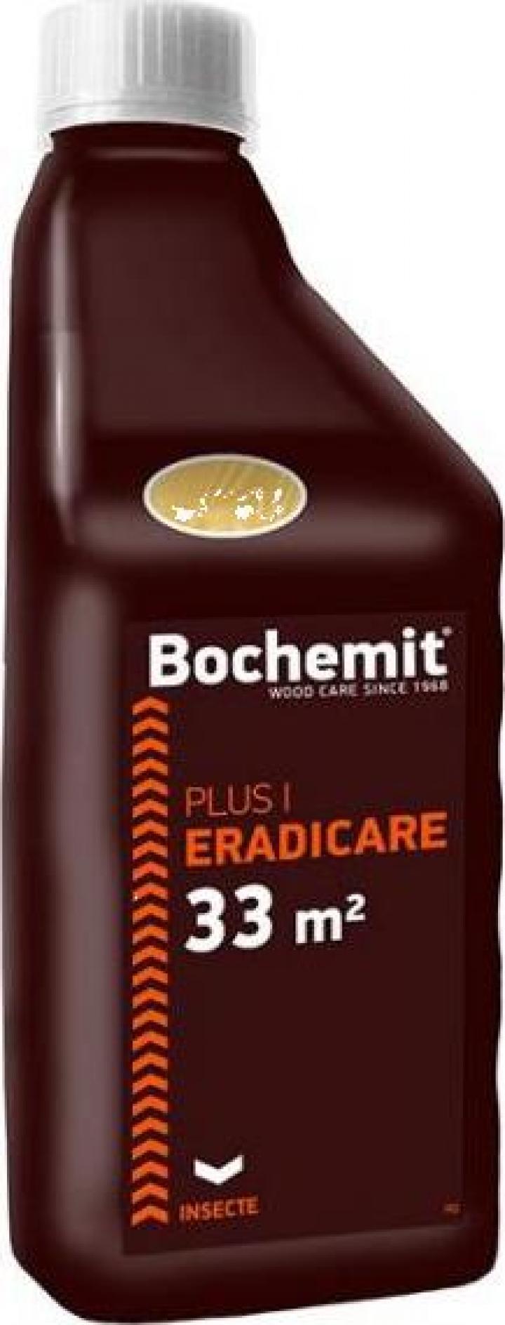 Solutie eliminare insecte lemn atacat - Bochemit Plus P 1 Kg