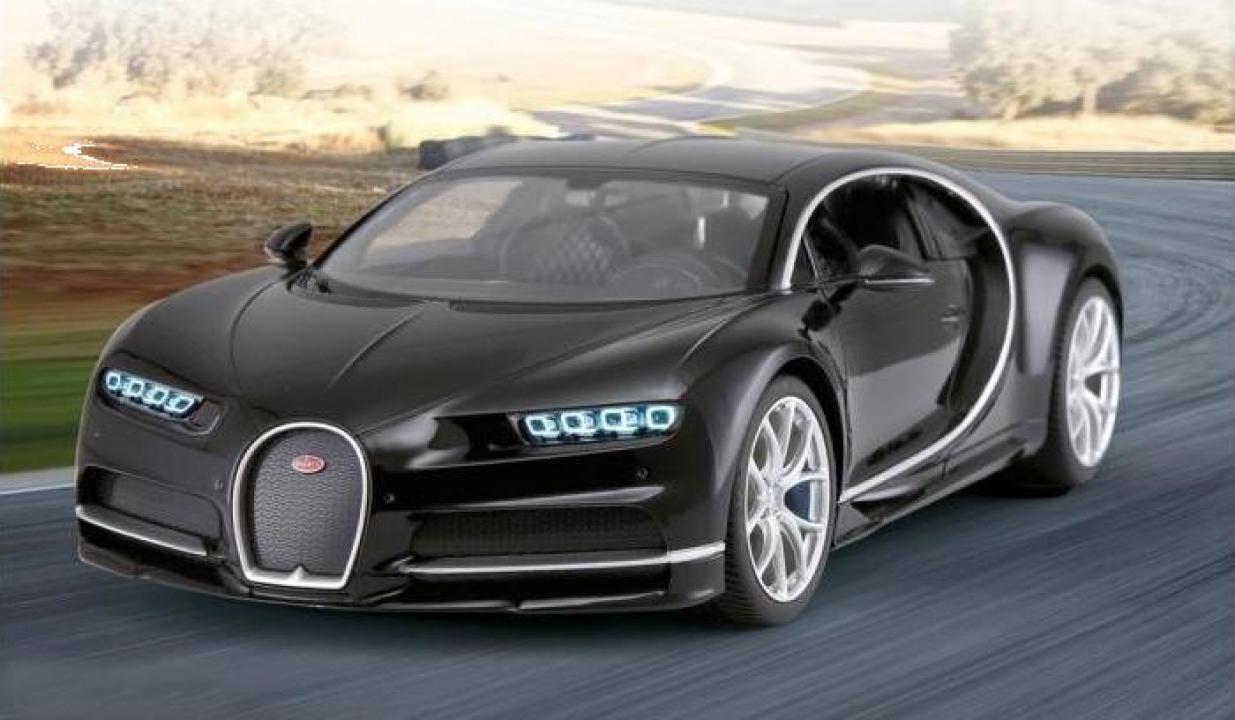 Jucarie masina cu radiocomanda Jamara Bugatti Chiron 1:14