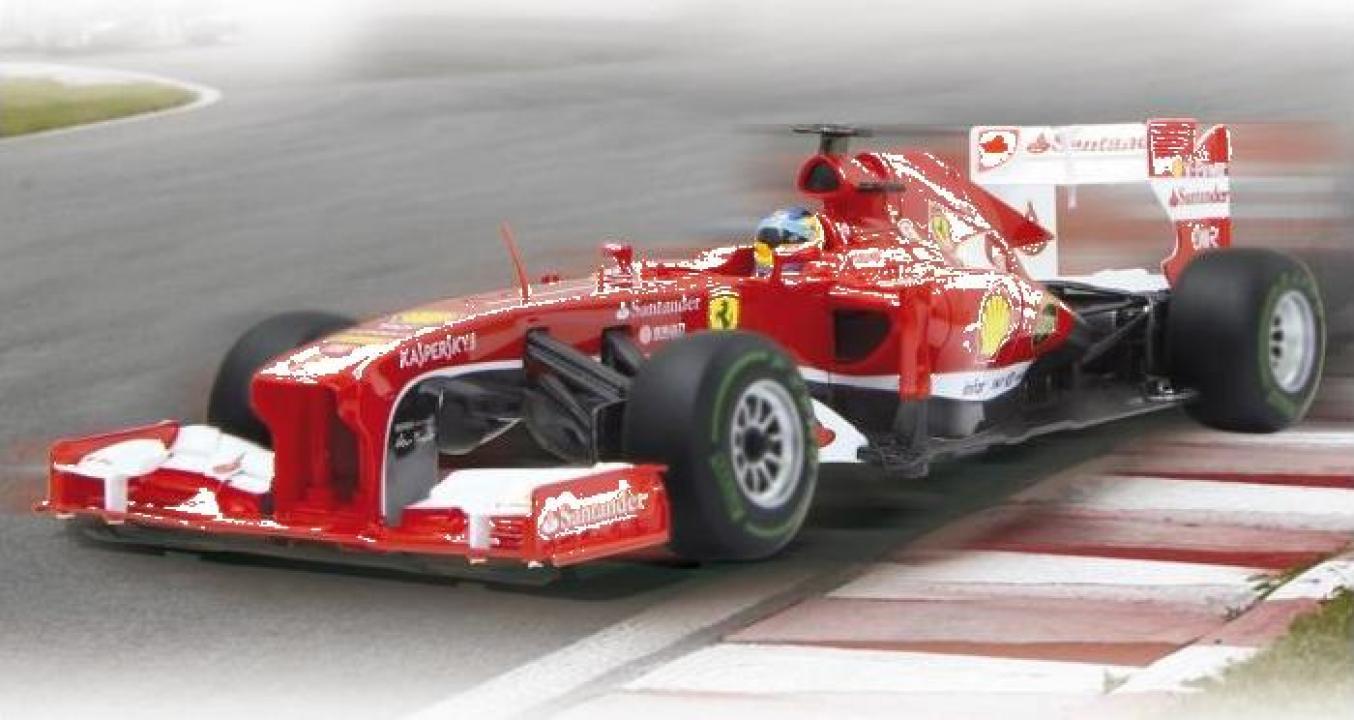 Jucarie masina cu radiocomanda Jamara Ferrari F1 1:12