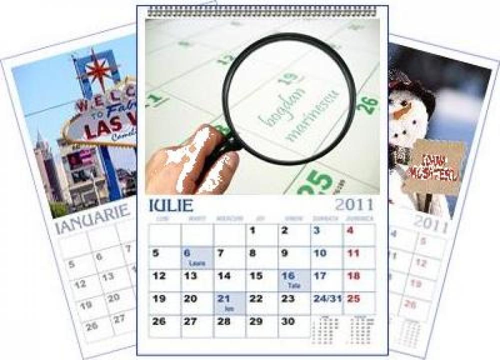 Calendar personalizat de perete CALP0002
