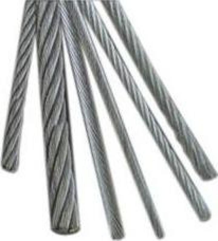 Cabluri de tratiune inox 6x36 IWRC AISI 316