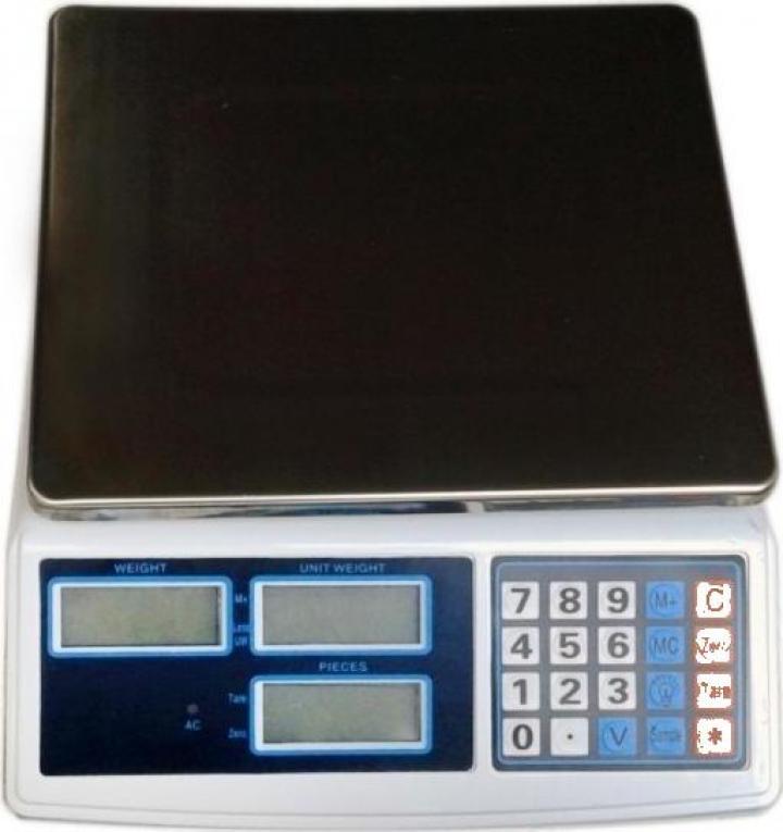Cantar electronic comercial cu functie de numarat