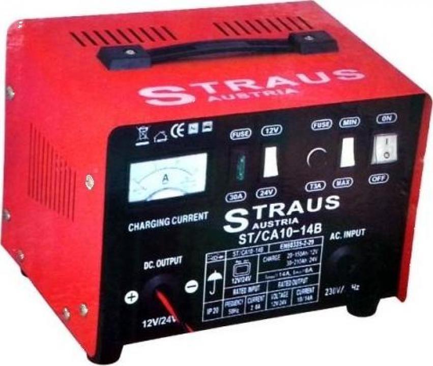 Redresor pentru incarcat baterii auto Straus Austria