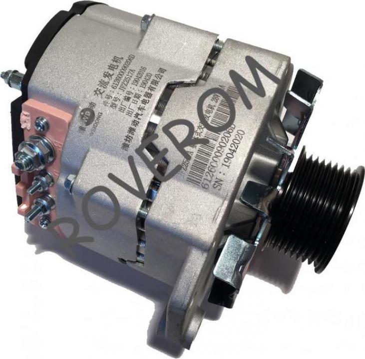 Alternator Weichai WD615G220, XCMG ZL50G, YTO ZL50F, 28V/55A