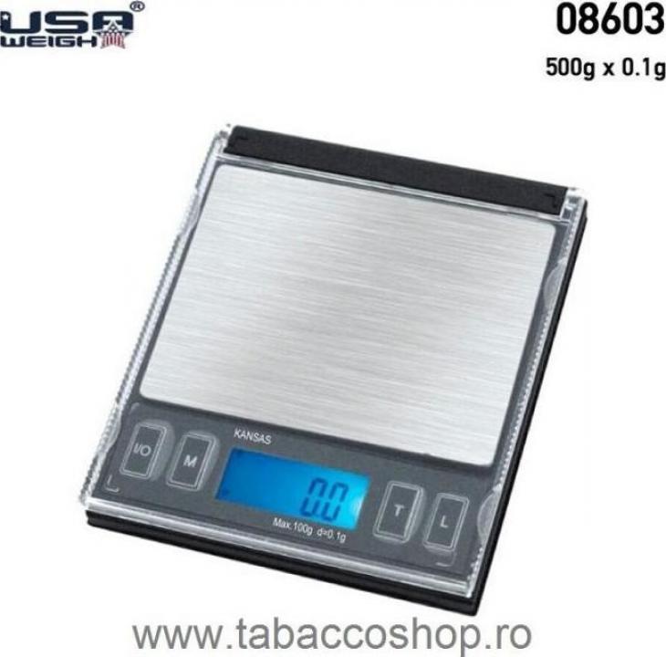 Cantar electronic USA Weigh Kansas mini CD 500g-0.1g