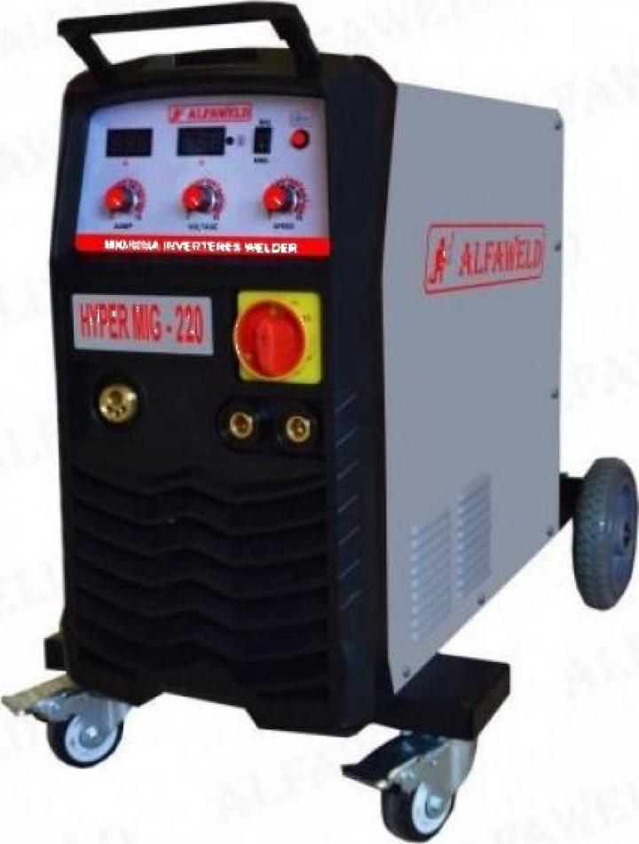 Invertor sudura AlfaWeld MIG-MAG Hypermig 220A