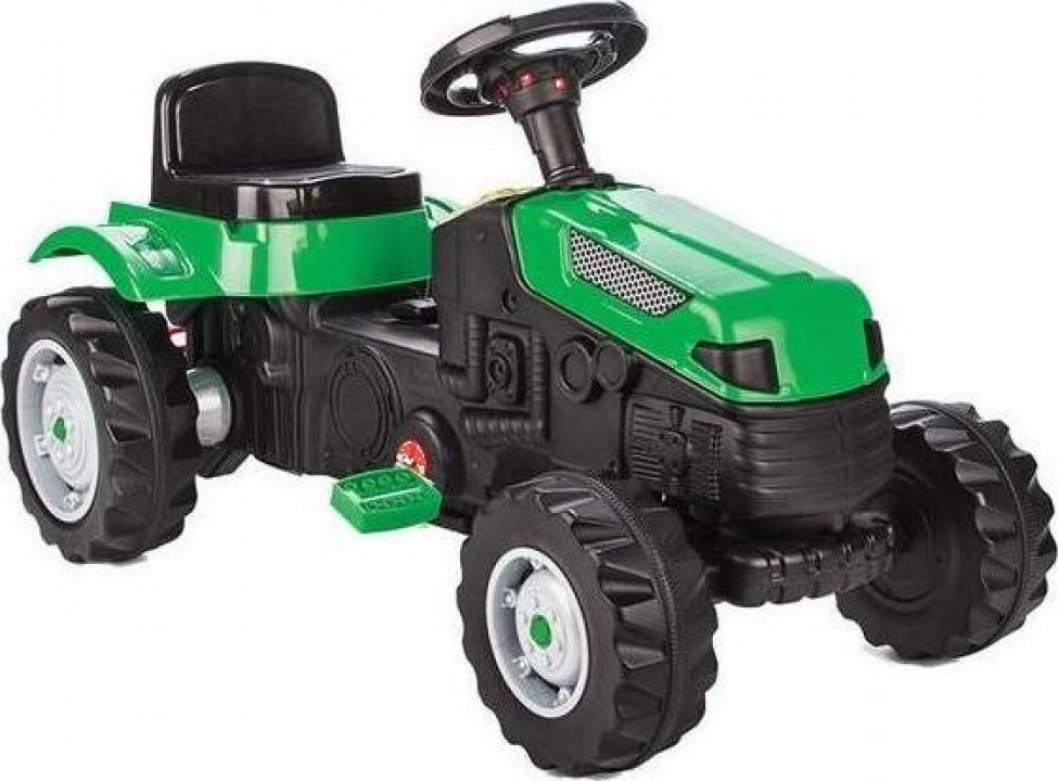 Jucarie tractor cu pedale Pilsan Active verde