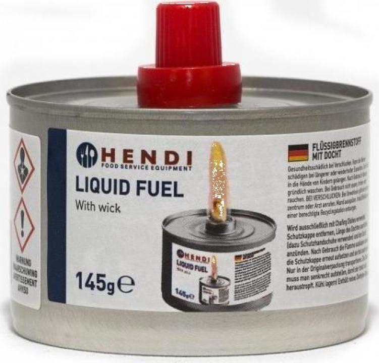 Combustibil lichid cu fitil - 24 in cutie - 145 gr