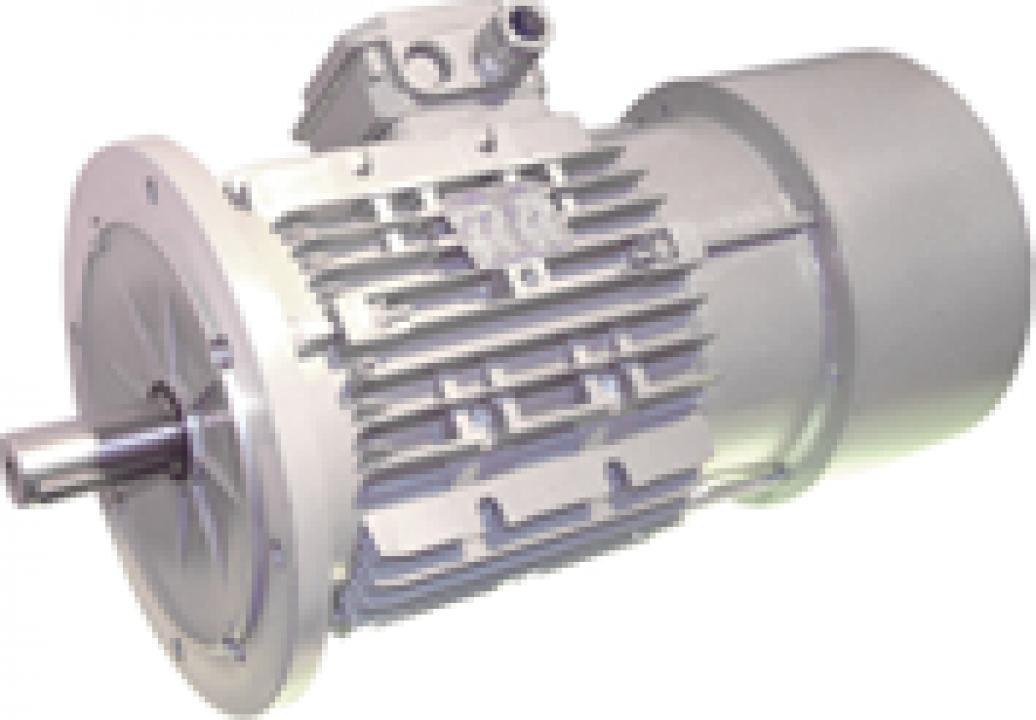 Motoare electrice trifazate cu frana in current alternativ