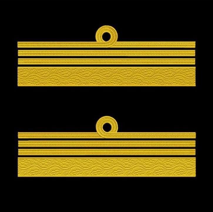 Broderie Grade maneca pentru Comandor de Marina Militara